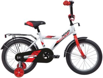 "139651 2 350x268 - Велосипед NOVATRACK 14"" ASTRA белый, тормоз нож, крылья, багажник, полная защ,цепи, рама - 9"""
