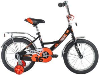 """139657 2 350x263 - Велосипед NOVATRACK 16"""" URBAN чёрный, полная защ,цепи, тормоз нож, крылья и багажник хром, рама - 10,5"""""""