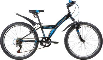 """140689 2 350x204 - Велосипед NOVATRACK 24"""" RACER 6,V сталь,рама 12"""" ,черный, 6-скор, TY21/TS38/SG-6SI, V-brake, рама - 12"""""""