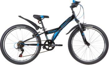 """140691 2 350x210 - Велосипед NOVATRACK 24"""" RACER 6,V сталь,рама 10"""" ,черный, 6-скор, TY21/TS38/SG-6SI, V-brake, рама - 10"""""""