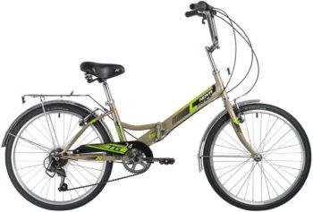 "140930 2 350x237 - Велосипед NOVATRACK 24"" TG-24 classic 3,0 складной, серый, 6скор, Shimano TY-21, торм 2руч,, сидение комфорт, рама - 14,5"""
