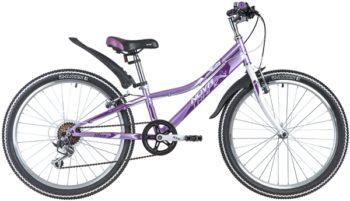 "145855 2 350x201 - Велосипед NOVATRACK 24"" ALICE 6,D пурпурный,  стальная рама 10"", 6 скор,, Shimano TY21/Microshift TS38, , рама - 10"""