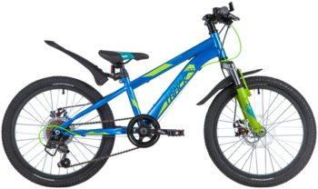 "145868 2 350x208 - Велосипед NOVATRACK 20"" POINTER 6,D синий,  сталь, 6 скор,, Shimano TY21/Microshift TS38, дисков, рама - 12"""