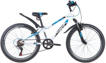 "145877 2 350x209 - Велосипед NOVATRACK 24"" EXTREME 6,V белый,  стальная рама 11"", 6 скор,, Shimano TZ500/Microshift TS38, V, рама - 11"""