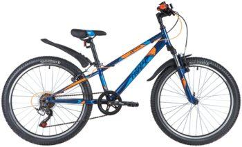 "145879 2 350x213 - Велосипед NOVATRACK 24"" EXTREME 6,V синий,  стальная рама 11"", 6 скор,, Shimano TZ500/Microshift TS38, V, рама - 11"""