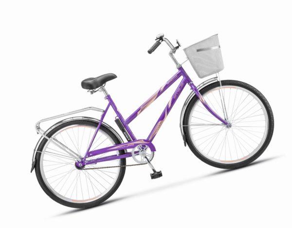 "200 fioletovyy 600x469 - Велосипед Стелс (Stels) Navigator-200 Lady 26"" Z010 , Сталь , р. 19"", цвет Фиолетовый"