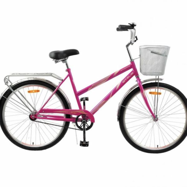 "200 malinovyy 600x600 - Велосипед Стелс (Stels) Navigator-200 Lady 26"" Z010 , Сталь , р. 19"", цвет  Малиновый"