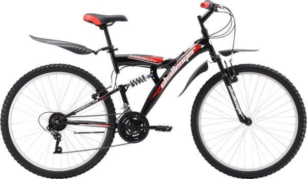 "24 dvukhpodves chernyy krasnyy 600x351 - Велосипед Стелс (Stels) Challenger V 24"" Z010, Сталь , р16"", цвет   Чёрный/красный"