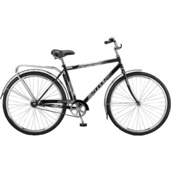 "300 chernyy 350x350 - Велосипед Стелс (Stels) Navigator-300 Gent 28"" Z010 , Сталь , р. 20"", цвет  20"" Чёрный"
