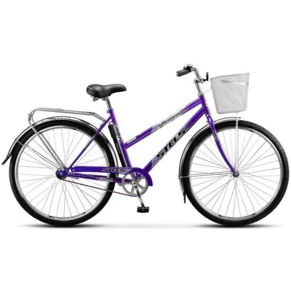 "300 fiolet 600x600 - Велосипед Стелс (Stels) Navigator-300 Lady 28"" Z010 , Сталь , р. 20"", цвет  20""   Фиолетовый"