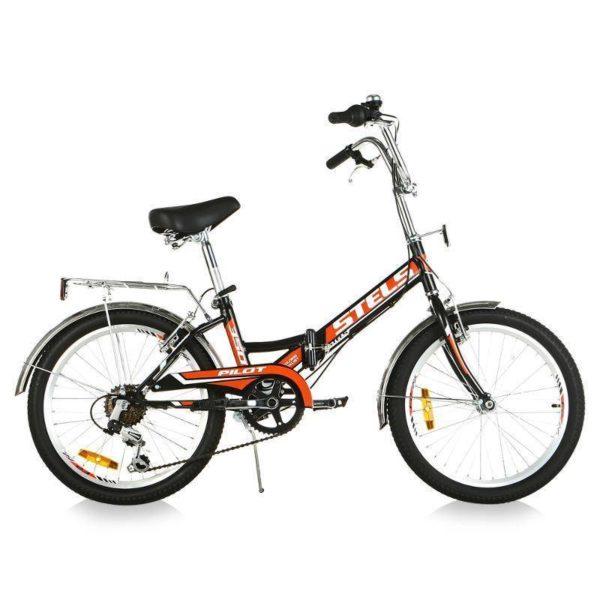 """310 600x600 - Велосипед Стелс (Stels) Pilot-310 20"""" Z011, Сталь , р13"""", цвет  Чёрный/красный"""