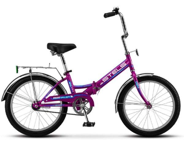 """310 fioletovyy 600x466 - Велосипед Стелс (Stels) Pilot-310 20"""" Z011, Сталь , р13"""", цвет   Фиолетовый"""