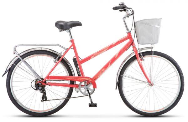 "325 korall 600x390 - Велосипед Стелс (Stels) Navigator-250 Lady 26"" Z010 , Сталь , р. 19"", цвет Коралловый"
