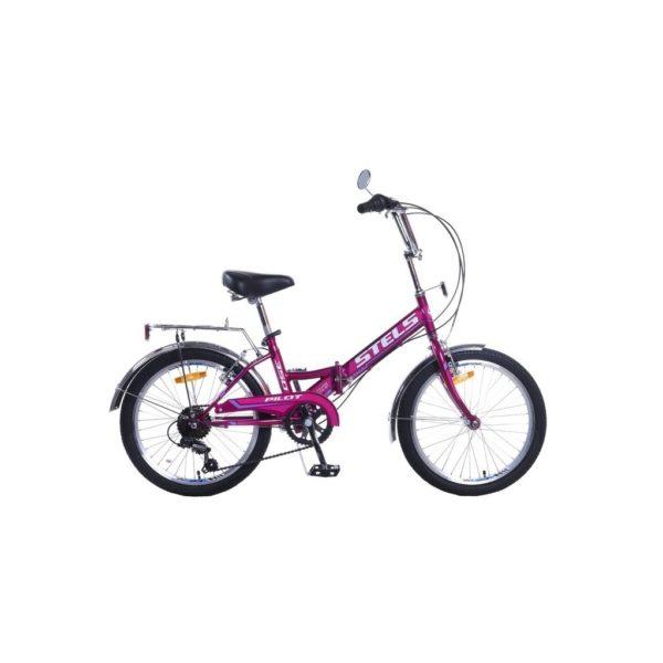 """350 fioletovyy 600x600 - Велосипед Стелс (Stels) Pilot-350 20"""" Z011, Сталь  , р13"""", цвет  Фиолетовый"""