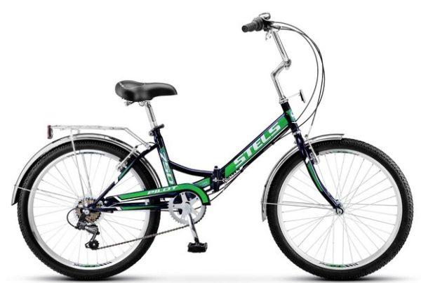 "750 zelenyy 600x403 - Велосипед Стелс (Stels) Pilot-310 20"" Z011, Сталь , р13"", цвет  Чёрный/зелёный"