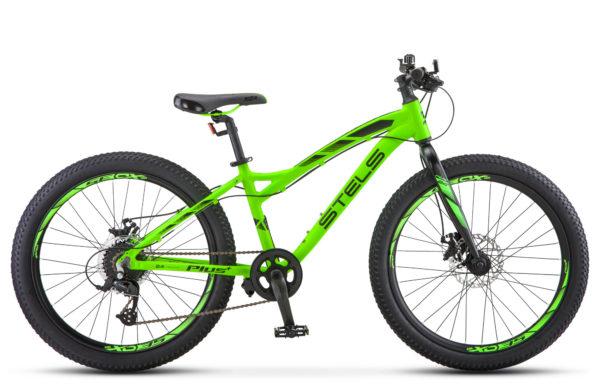 "Adrenalin MD 24 V010 matt neon lime 600x390 - Велосипед Стелс (Stels)  Adrenalin MD 24"" V010, Алюминий , р13,5"", цвет Неоновый-лайм"