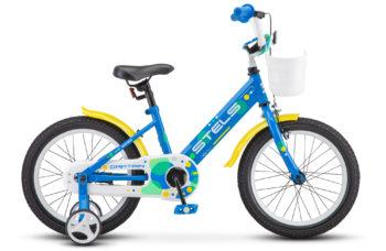 """Captain 16 V010 blue 350x228 - Велосипед Стелс (Stels) Captain 16"""" V010, Сталь , р 9,5"""", цвет Синий"""