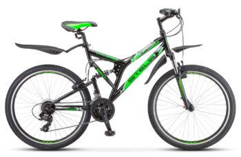 Challenger V 26 Z010 black green 350x228 - Велосипеды в Павловском Посаде Fuji (Фуджи), STINGER, NOVATRACK, STELS, FORWARD и др...