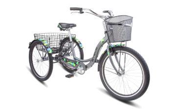 "Energy I 26 V030 gray black 350x228 - Велосипед Стелс (Stels) Energy-I 26"" V020 , Алюминий , р. 16"", цвет  Серый/чёрный"