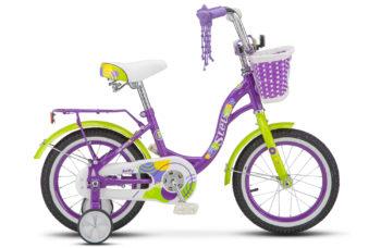 "Jolly 14 V010 Violet 350x228 - Велосипед Стелс (Stels)Jolly 14"" V010 , Сталь , р 10"", цвет   Фиолетовый"