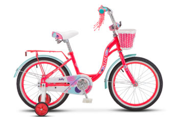 "Jolly 18 V010 neon pink 350x228 - Велосипед Стелс (Stels)Jolly 18"" V010 , Сталь , р 11"", цвет    Розовый/салатовый"