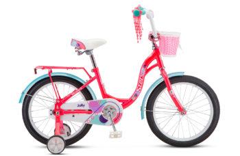 """Jolly 18 V010 pink 350x228 - Велосипед Стелс (Stels)Jolly 18"""" V010 , Сталь , р 11"""", цвет   Розовый"""