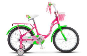 """Jolly 18 V010 purple 350x228 - Велосипед Стелс (Stels)Jolly 18"""" V010 , Сталь , р 11"""", цвет    Пурпурный/зелёный"""