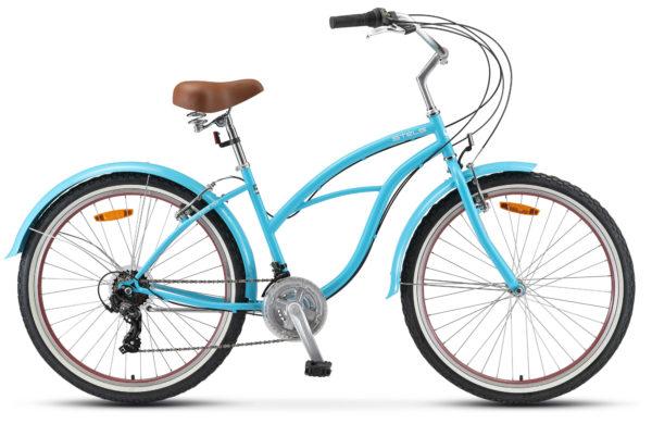 "Navigator 150 Lady 26 21 sp V010 blue 600x390 - Велосипед Стелс (Stels) Navigator-150 Lady 26"" 21-sp V010, Сталь , р. 17"", цвет Голубой"