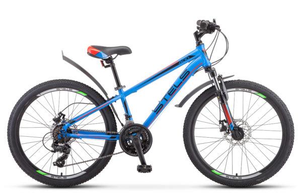 "Navigator 400 MD 24 F010 blue red 600x390 - Велосипед Стелс (Stels) Navigator-400 MD 24"" F010, Сталь , р12"", цвет Синий/красный"