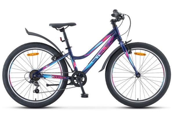 "Navigator 420 V 24 V030 dark blue glossy 600x390 - Велосипед Стелс (Stels) Navigator-420 V 24"" V030, Алюминий , р12"", цвет  Тёмно-синий"