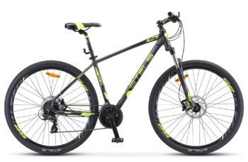 "Navigator 930 D 29 V010 anthracite black lime matt 350x228 - Велосипед Стелс (Stels) Navigator-930 D 29"" V010, Алюминий, р.20, цвет: Антрацитовый/чёрный/лайм"