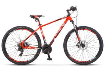 "Navigator 930 MD 29 V010 neon red black matt 350x228 - Велосипед Стелс (Stels) Navigator-930 MD 29"" V010, Алюминий, р.16.5, цвет: Неоновый-красный/чёрный"