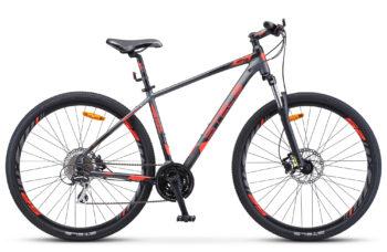 "Navigator 950 D 29 V010 anthracite red black matt 1 350x228 - Велосипед Стелс (Stels) Navigator-950 D 29"" V010, Алюминий, р.16,5, цвет Антрацитовый/красный/чёрный"
