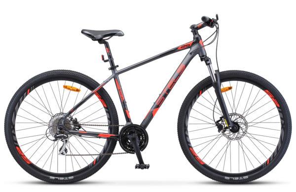 "Navigator 950 D 29 V010 anthracite red black matt 1 600x390 - Велосипед Стелс (Stels) Navigator-950 D 29"" V010, Алюминий, р.20, цвет Антрацитовый/красный/чёрный"