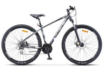 "Navigator 950 MD 29 V010 anthracite silver black matt 350x228 - Велосипед Стелс (Stels) Navigator-950 MD 29"" V010, Алюминий, р.20, цвет Антрацитовый/серебристый/чёрный"