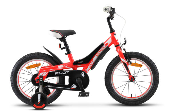 """Pilot 180 16 V010 red 600x390 - Велосипед Стелс (Stels) Pilot-180 16"""" V010, Алюминий , р 8,5"""", цвет   Красный"""