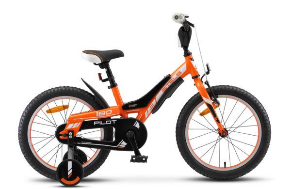 """Pilot 180 18 V010 orange 600x390 - Велосипед Стелс (Stels) Pilot-180  18"""" V010, Алюминий , р 10,5"""", цвет   Оранжевый"""