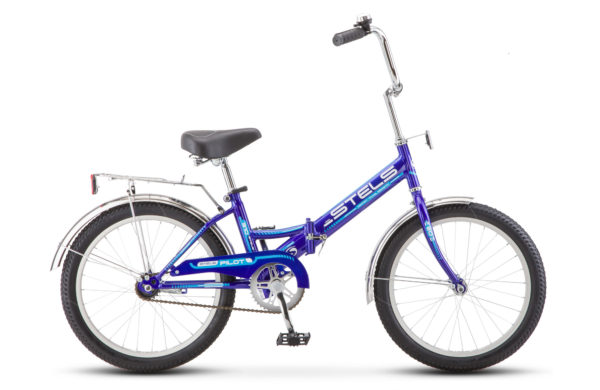 """Pilot 310 20 Z011 blue light blue2018 600x390 - Велосипед Стелс (Stels) Pilot-310 20"""" Z011, Сталь , р13"""", цвет  Синий"""