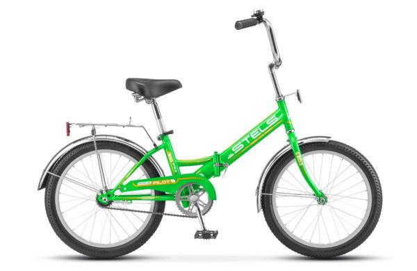 """Pilot 310 20 Z011 green yellow2018 600x390 - Велосипед Стелс (Stels) Pilot-310 20"""" Z011, Сталь , р13"""", цвет  Зелёный/жёлтый"""