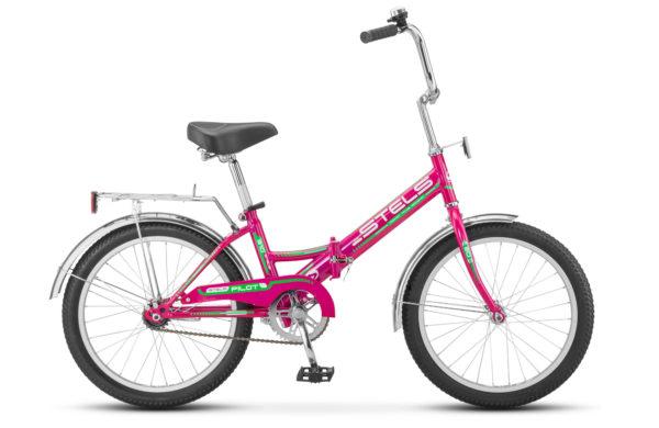 """Pilot 310 20 Z011 raspberry 600x390 - Велосипед Стелс (Stels) Pilot-310 20"""" Z011, Сталь , р13"""", цвет   Малиновый"""