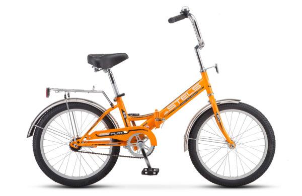 """Pilot 310 20 Z011 orange 2018 600x390 - Велосипед Стелс (Stels) Pilot-310 20"""" Z011, Сталь , р13"""", цвет  Оранжевый"""