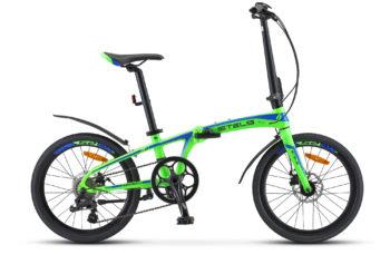 "Pilot 680 MD 20  V010 green blue matt 350x228 - Велосипед Стелс (Stels) Pilot-680 MD 20"" V010, Алюминий X6 , р. 10"", цвет  Зелёный/синий"