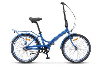 """Pilot 780 24 V010 dark blue 350x228 - Велосипед Стелс (Stels) Pilot-780 24"""" V010, Алюминий , р. 14"""", цвет Синий"""