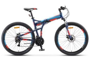 """Pilot 950 MD 26 V011 dark blue matt 350x228 - Велосипед Стелс (Stels) Pilot-950 MD 26"""" V011, Алюминий , р. 17,5"""", цвет Темно-синий"""