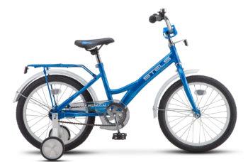 """Talisman 18 Z010 Blue 350x228 - Велосипед Стелс (Stels) Talisman 18"""" Z010 , Сталь , р 11"""", цвет   Синий"""