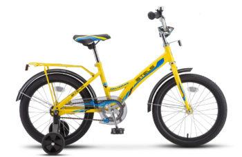 """Talisman 18 Z010 yellow 2018 350x228 - Велосипед Стелс (Stels) Talisman 18"""" Z010 , Сталь , р 11"""", цвет    Жёлтый"""