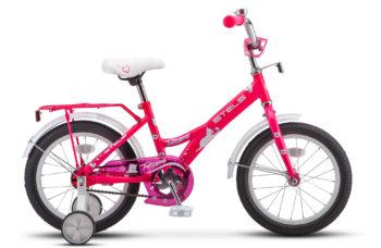 "Talisman Lady 16 Z010 pink 350x228 - Велосипед Стелс (Stels) Talisman Lady 16"" Z010 , Сталь , р 11"", цвет   Розовый"
