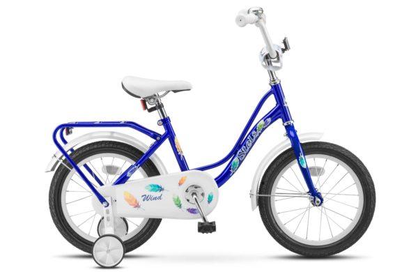 "Wind 16 Z020 blue 600x390 - Велосипед Стелс (Stels) Wind 16"" Z020, Сталь , р 11"", цвет  Синий"