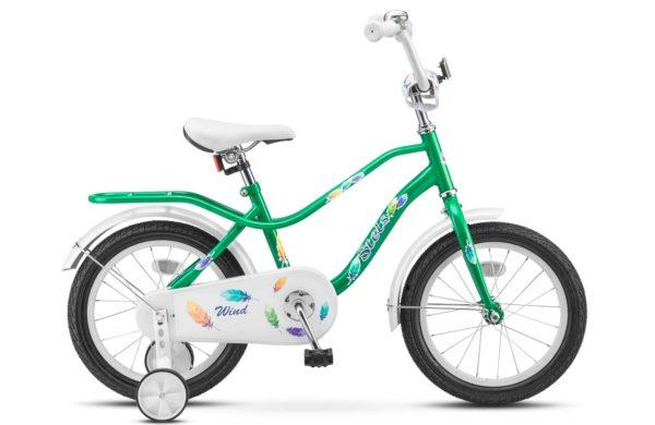 """Wind 14 Z010 green 600x390 - Велосипед Стелс (Stels) Wind 14"""" Z020, Сталь , р 9,5"""", цвет  Зелёный"""