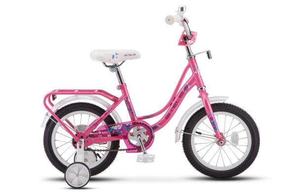 """Wind 14 Z020 pink 2019 600x390 - Велосипед Стелс (Stels) Wind 14"""" Z020, Сталь , р 9,5"""", цвет Розовый"""